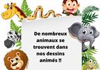Quiz: Les animaux dans les dessins animés